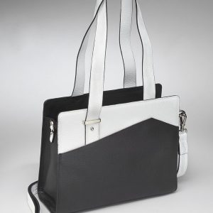 Black & White Purse Portfolio GTM-82/BW