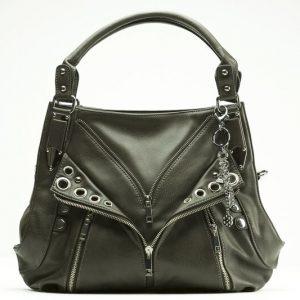 Sassy Kat Dark Slate Black/Silver With Holster By Urban Moxy