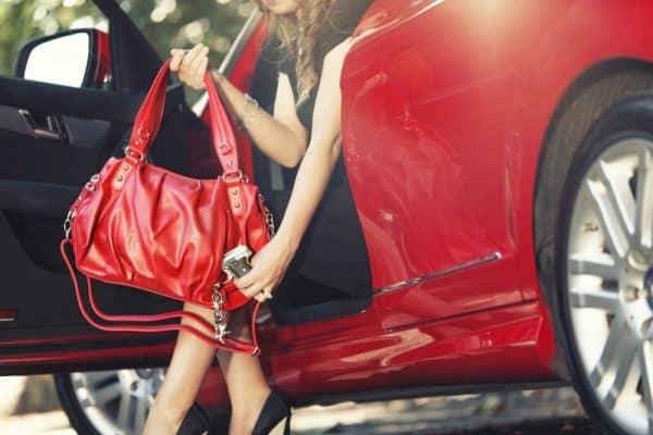 Urban Moxy Penny Concealment Handbag firearm