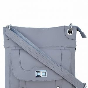 Essential Leather Concealed Carry Crossbody Bag