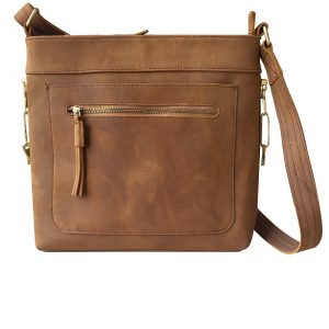 Leather Concealed Carry Satchel Purse