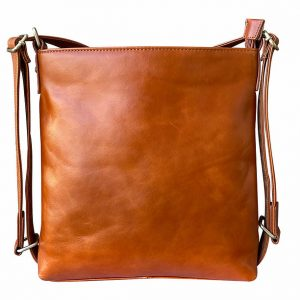 Wax Leather Concealed Carry Satchel / Backpack