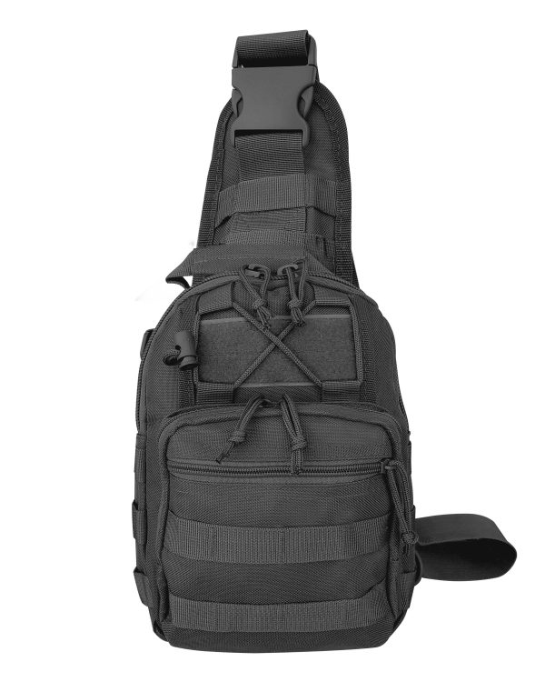 Black Tactical Go Pack 6007 Roma Leather