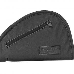 Black Zippered Pistol Rug 9805 R Roma Leather