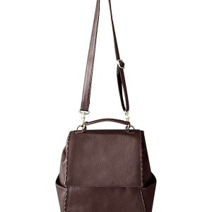 Brown Leather Backpack Concealed Carry Purse 7049 Roma Leathers