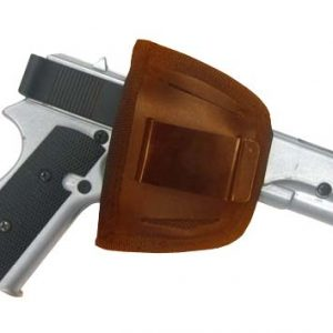 Brown Leather Belt Holster 7012 R Roma Leather