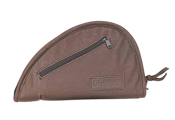 Brown Zippered Pistol Rug 9805 R Roma Leather