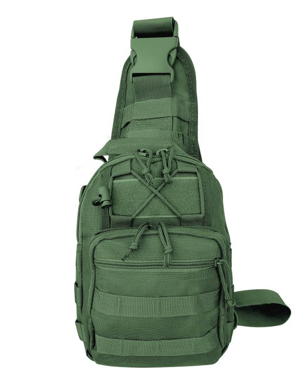 Green Tactical Go Pack 6007 Roma Leather