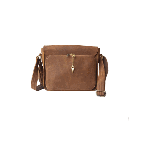 Leather Cross-Body Concealed Carry Bag