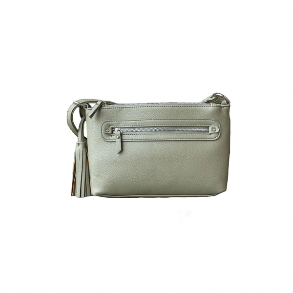 Olive Crossbody Compact Concealed Carry Purse 8013R Roma Leathers