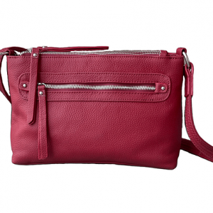 Compact Leather Concealed Carry Purse