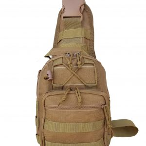 Tan Tactical Go Pack 6007 Roma Leather