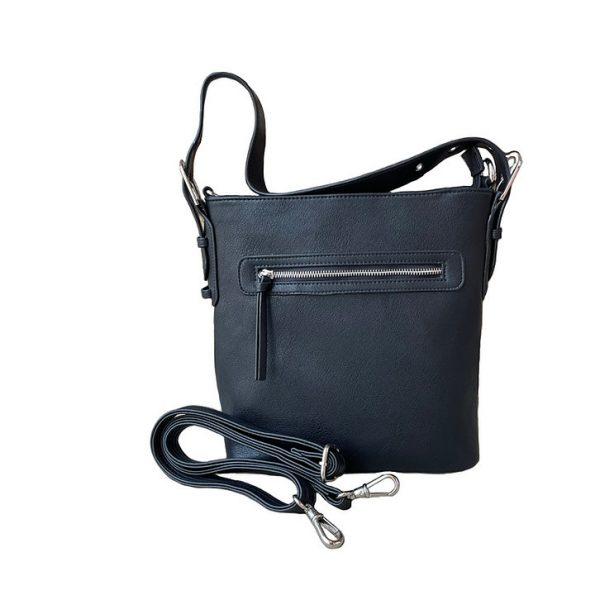 Vegan Leather Concealment Purse 8009R straps Roma Leathers