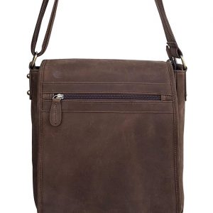Western Leather Concealed Carry Satchel